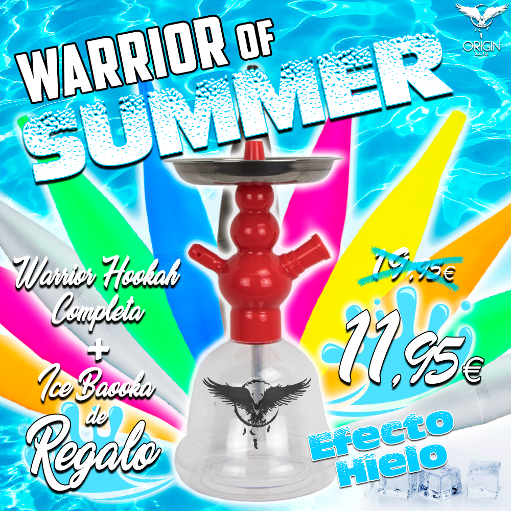 Promo de cachimba Warrior of Summer
