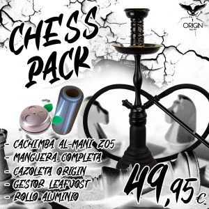 Cachimba y accesorios Chess Pack